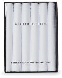 Geoffrey Beene - 6-Pack Cotton Handkerchiefs - Lyst