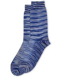 Missoni - Mixed Print Crew Socks - Lyst