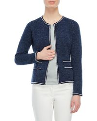 Sioni | Pearl-trimmed Open Jacket | Lyst