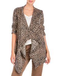 Rene Rofe - Lounge Lover Leopard Print Wrap - Lyst
