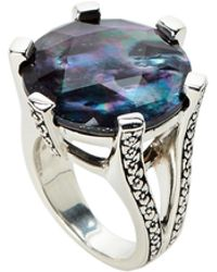 Stephen Dweck - Mother-of-pearl & Hematite Ring Size 7 - Lyst