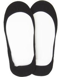 Hue - 2-Pair Hidden Cotton Liner Socks - Lyst
