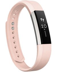 Fitbit - Alta Leather Wristband - Lyst