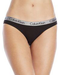 Calvin Klein - Radiant Cotton Bikini Panty - Lyst