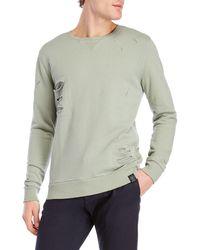 Kultivate - Distressed Sweatshirt - Lyst