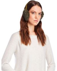 C-lective - Real Rabbit Fur Earmuffs - Lyst