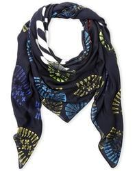 Moschino - Boot Print Scarf - Lyst