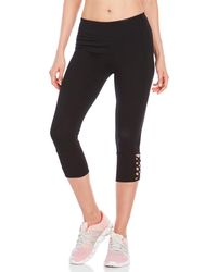 Marc New York - Caged Cropped Leggings - Lyst