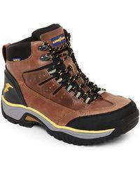 Goodyear - Taupe & Black Bristol Steel Toe Work Boots - Lyst