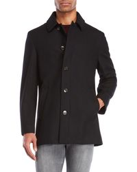 Lauren by Ralph Lauren | Single-breasted Overcoat | Lyst