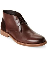 English Laundry - Brown Juno Leather Chukka Boots - Lyst
