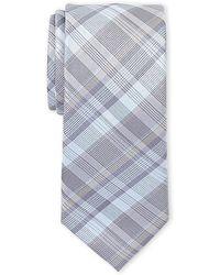 Kenneth Cole - Parker Plaid Slim Tie - Lyst