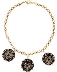 Lulu Frost - Gold-tone Patti Daisy Necklace - Lyst
