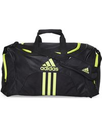 adidas - Black Scorer Medium Duffel - Lyst