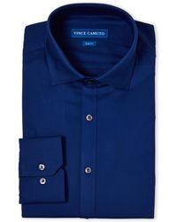 Vince Camuto - Comfort Stretch Slim Fit Dress Shirt - Lyst