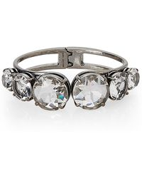 Marc Jacobs - Silver-tone Accented Hinge Bracelet - Lyst