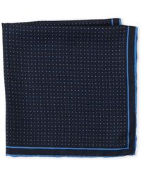 Imperial - Silk Dot Pocket Square - Lyst
