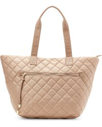 Olivia + Joy - Stone Zsa Zsa Quilted Tote - Lyst