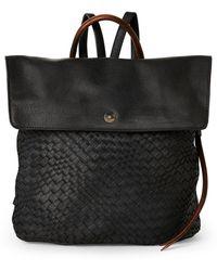 Moda Luxe - Black Journey Woven Backpack - Lyst