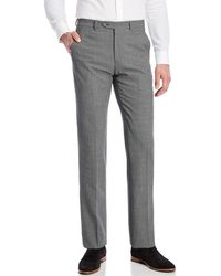 Armani | Checkered Wool-blend Trousers | Lyst