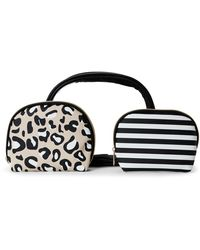 Under One Sky - 3-Piece Dome Cosmetic Bag Set - Lyst