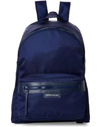 Longchamp - Navy Le Pliage Néo Medium Backpack - Lyst