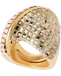 Swarovski - Gold-tone Film Ring - Lyst