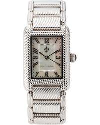 Judith Ripka | 11950 Silver-Tone Watch | Lyst