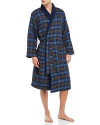 Lyst - Original Penguin Penguin-print Terry Robe in Blue for Men d04ff5ac5