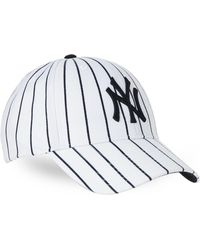 47 Brand - Pinstripe Yankees Cap - Lyst