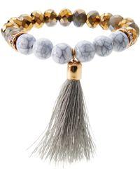 Catherine Stein - Marbled Beaded Bracelet - Lyst