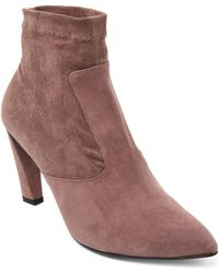 Robert Clergerie - Quince Pointed Toe Booties - Lyst