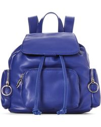 French Connection - Blue Depths Henley Small Backpack - Lyst