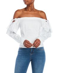 Do+Be Collection | Off-the-shoulder Poplin Top | Lyst