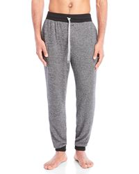 Kenneth Cole - Stripe Jogger Lounge Pants - Lyst
