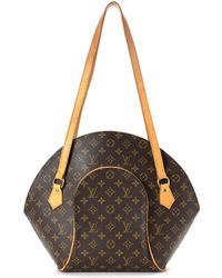 02c36adc9e85 Louis Vuitton - Monogram Ellipse Shopping Shoulder Bag - Vintage - Lyst