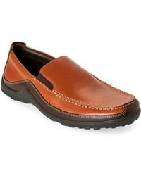 Cole Haan - Tan Tucker Venetian Loafers - Lyst