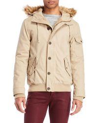 Weatherproof - Faux Fur Trim Hooded Parka - Lyst