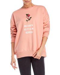 LPA - Graphic Sweatshirt - Lyst