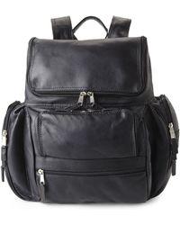 Latico - Black Laptop Backpack - Lyst