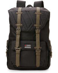 Olympia - Navy Black Hopkins Backpack - Lyst