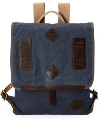 Will Leather Goods - Navy Lake Canoe Pack - Lyst