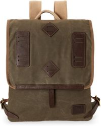 Will Leather Goods - Olive Lake Canoe Pack - Lyst