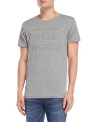 Scotch & Soda - Well Wasted Tee - Lyst