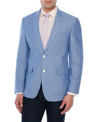 Tommy Hilfiger - Blue Chambray Ethan Jacket - Lyst