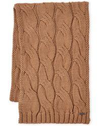 MICHAEL Michael Kors - Cable Knit Muffler - Lyst