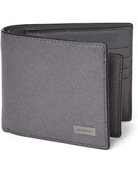 Michael Kors - Andy Saffiano Leather Bifold Wallet - Lyst