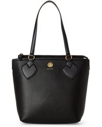 Anne Klein - Black Straight Up Small Tote - Lyst