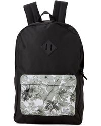 a9118f9f045 Lyst - Herschel Supply Co. Offset Heritage Backpack in Green for Men