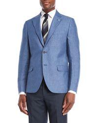 Nautica - Blue Briella Linen Suit Jacket - Lyst